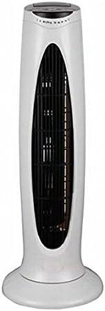 Ventilador PAEAMER VT-2963 torre 73 cm 3 velocidades oscilante mando a distancia 50W temporizador blanco