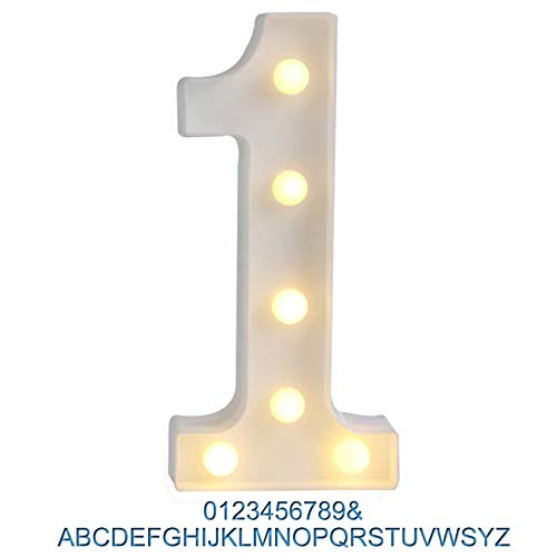 number one birthday sign - 7