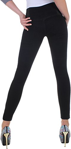 Black Denim - Vaqueros - skinny - para mujer negro