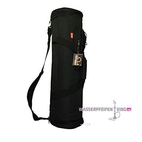 Black Pipas Profesional Bag Shisha Cm Negro Grande De 75 Agua Altura Para Bolso En OaCwCxqS1