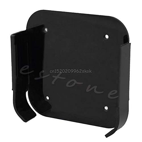 V2AMZ - 1Pc Wall Mount Case Bracket Holder Tray Black For Apple TV 2 3 & for AirPort Express F23 ping