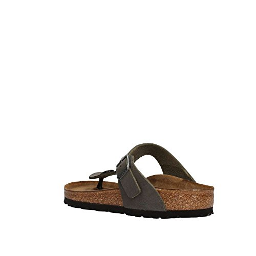 Birkenstock Gizeh Black Womens Sandals gris