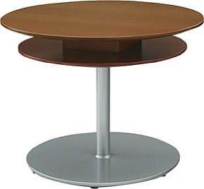 コクヨ ロビーチェアー ラウンジコルテアシリーズ センターテーブル(二重天板) 直径1050mm