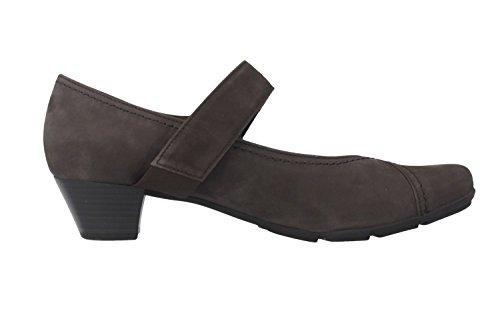 Gabor - Zapatos de vestir de Piel para mujer Gris antracita