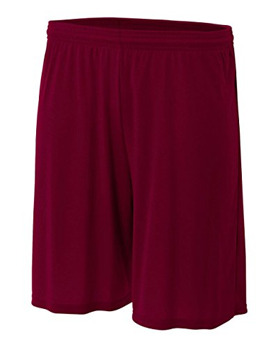 (A4 Sportswear Maroon Youth Medium 6