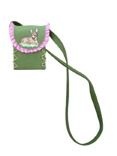 Die Dirndltasche , Borsa Messenger  Verde verde One size