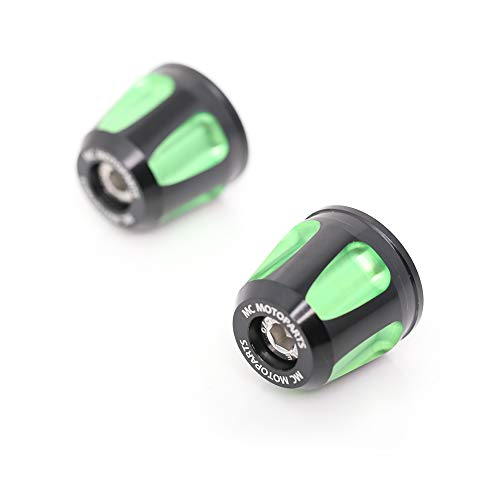Green CNC KAIXA Bar Ends Sliders For Kawasaki Z650 for sale  Delivered anywhere in USA