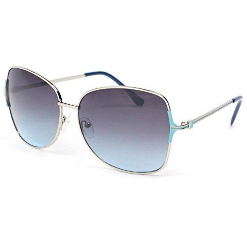 Wear Eye Babe Lunettes Femme Bleu soleil femme de grises bleues FqdqxZr