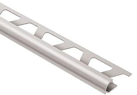 Amazon.com: Schluter RONDEC - Borde de aluminio anodizado ...