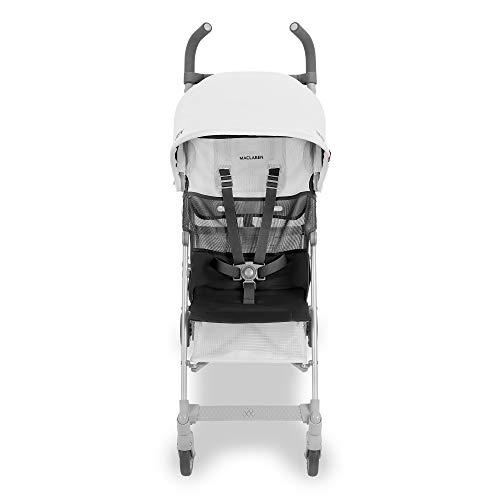 Maclaren Volo Stroller- Lightest Full-Size Stroller! Compact and Easy to Maneuver. Extendable UPF50+ / Waterproof Hood, Breathable mesh seat, 4-Wheel Suspension, Oversized Basket