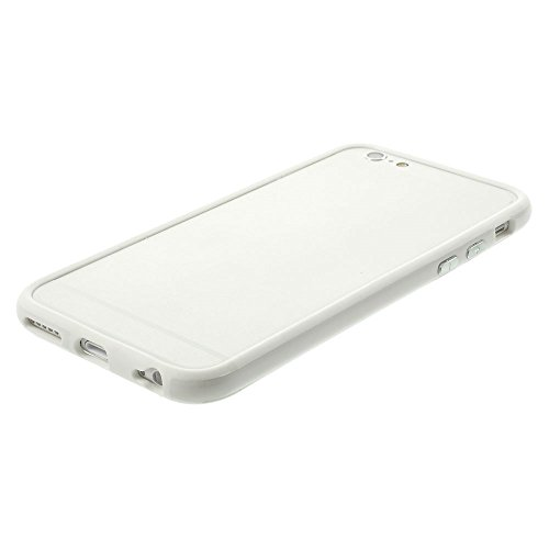 """iProtect Protection Frame Apple iPhone 6 (4,7"""") Bumper Schutzhülle weiß"""