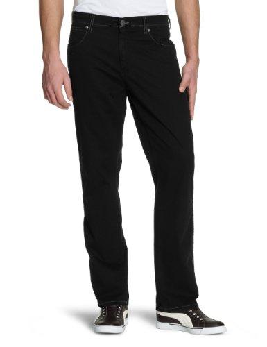 Pantalones Black Texas Black Overdye Wrangler Hombre Stretch para ZqUyxt