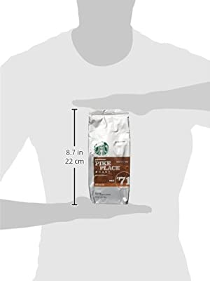 Starbucks Pike Place® Roast, Ground Coffee (12oz) from Starbucks Coffee Company