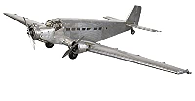 Junkers JU-52 Iron Annie Airplane European Version of Ford Trimotor Plane Pre-Built Model Aircraft