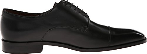 Massimo Matteo Mens 5-eye Cap Toe Black