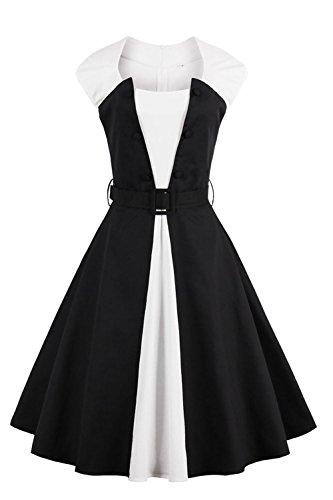 Buy black 40s dress - 8