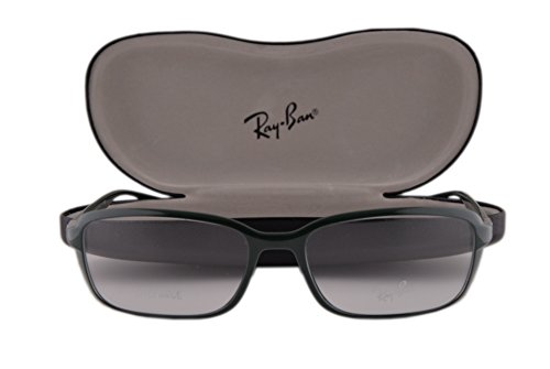 Ray Ban RX7037 Eyeglasses 56-17-145 Shiny Military Green 5433 RX - Wayfarer Ray Cat Ban Eye