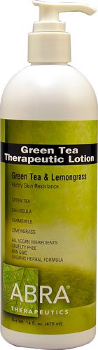 - Abra Therapeutics Green Tea Therapeutic Lotion Green Tea & Lemongrass -- 16 fl oz - 2pc