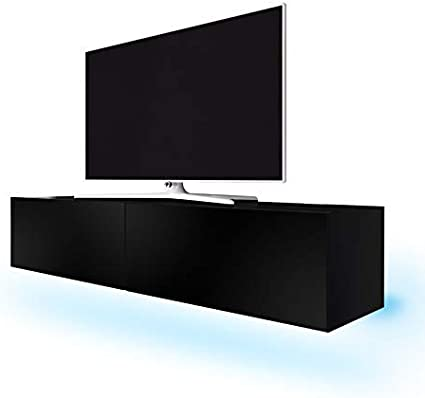 Dynamic24 Simple - Mueble bajo para televisor con iluminación LED ...