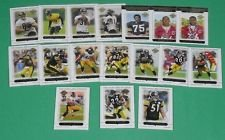 2005 Topps Pittsburgh Steelers Team Set - 17 Cards - Super Bowl Champions - Shipped in a Protective Acrylic Case