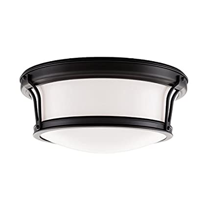 Amazon.com: Hudson Valley iluminación Newport Flush 2 Light ...