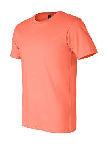 Blank Apparel - Bella + Canvas Unisex Jersey Short Sleeve Tee (Coral) (XL)