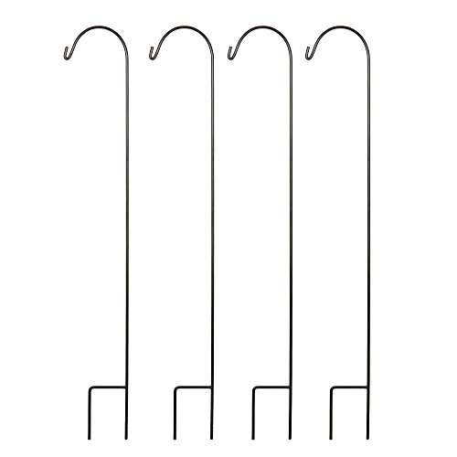 Hosley Set of 4 Shepherd Hooks- 33