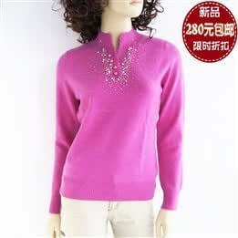 2012 autumn and winter new cashmere sweater women new Ms. collar cashmere sweater bottoming sweater special
