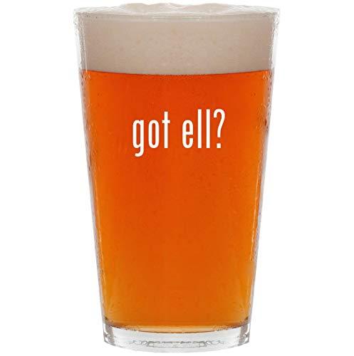 - got ell? - 16oz All Purpose Pint Beer Glass