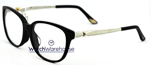 Cartier Trinity Black Composite Women's Optical Eyeglasses T8101215 - Cartier Eyewear