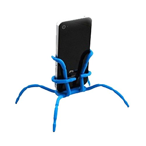 Cewaal Gift Flexible Spider Stand Phone Car Holder Hanging Mount and Stand for iPhone Samsung Android in Car Desk Plane