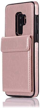 iPhone 7 PUレザー ケース, 手帳型 ケース 本革 耐衝撃 ビジネス カバー収納 ポーチケース 財布 手帳型ケース iPhone アイフォン 7 レザーケース