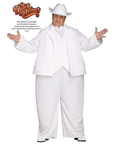 Boss Hogg Adult Costume White