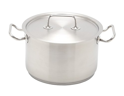 Avon Appliances Stainless Steel Cooking Pot With Lid, 7 L, 1 Piece  Stainless Steel