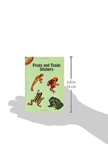 Frogs and Toads Stickers (Dover Little Activity Books Stickers)