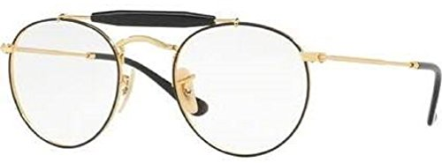 Ray-Ban RX3747V Eyeglasses Gold Top Havana - Eyeglasses Brand Top