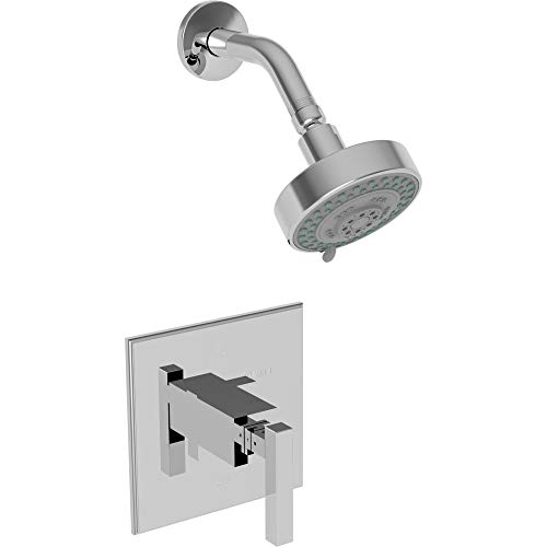 - Newport Brass 3-2024BP Cube 2 Single Handle Pressure Balanced Shower Trim Only w, Polished Chrome