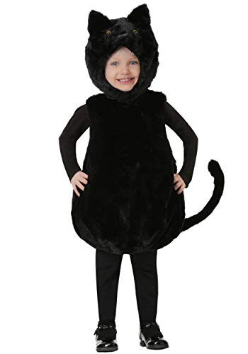 Toddler's Bubble Body Black Kitty Costume