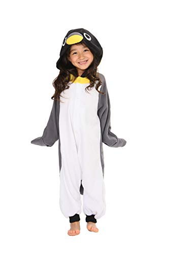 Animal Kids Onesie Kigurumi Costumes (2-5 Years, Penguin)]()
