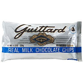 Guittard-Milk Chocolate Baking Chips,11.5oz Bags(Pack of 6)