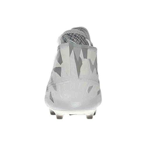 Adidas Hombres Soccer X 16+ Purechaos Calcas De Suelo Firme Gris, Blanco