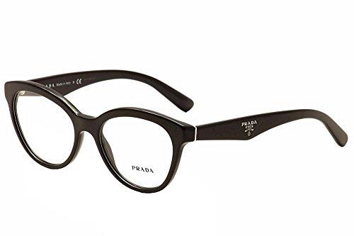 black prada triangle pr11rv roj1o1 glasses