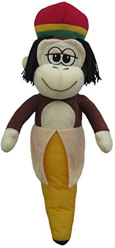 Rasta Monkey Banana 12 inch Soft (Rasta Banana Stuffed Animal)