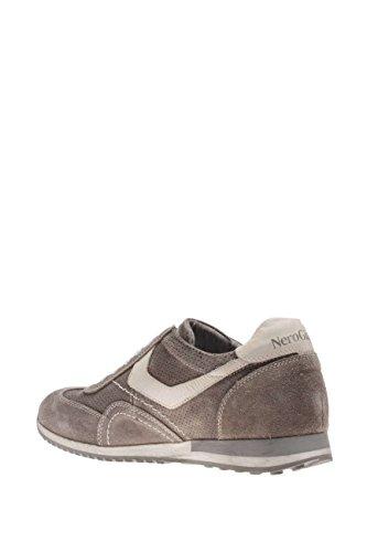 Nero Giardini Hombre Sneaker P604042U-122 Sneaker, Color Marrón Sasso