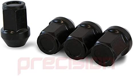 16NM10B+N11B510 Black Wheel Nuts and Locking Nut Set for Ḿazda Ḿazda6 Alloy Wheels Part No