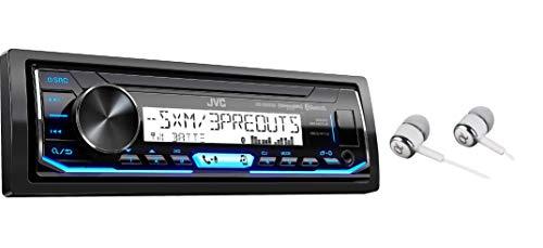 JVC KD-X35MBS Single DIN SiriusXM Bluetooth MP3 USB Pandora