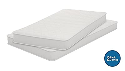 Signature Sleep 6146119SET Conventional Bed Mattress, Set of 2: Twin and Full, White
