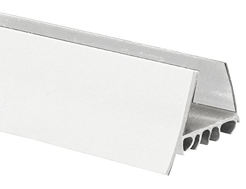 (Frost King UDB77W Thermoplastic Slide-On Door Bottom, 1-3/4In Wide x 36In Long, White)