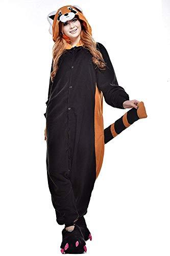Costume Anime Kigurumi Procione Lavatore Halloween Attrezzatura Abyed® Pigiama Cosplay Z6xXnw
