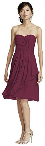 crinkle chiffon dress - 1